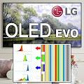 Il nuovo pannello OLED dei TV LG EVO