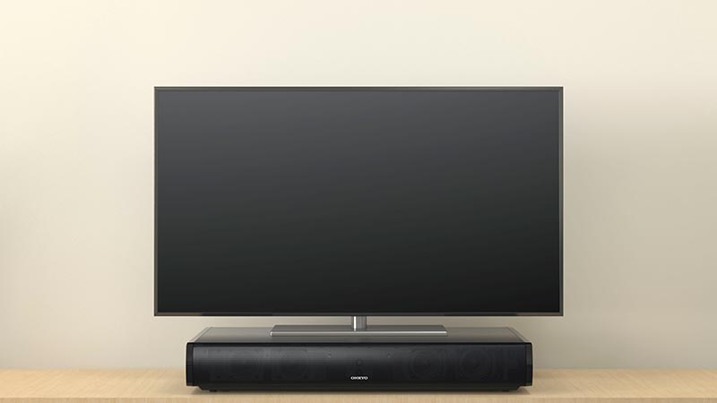 Onkyo LS-T10: sound-base TV surround | AV Magazine