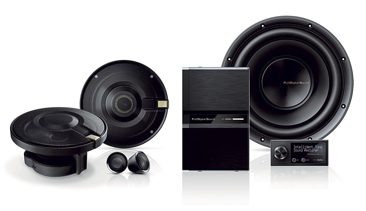 clarion full digital sound system av magazine. Black Bedroom Furniture Sets. Home Design Ideas
