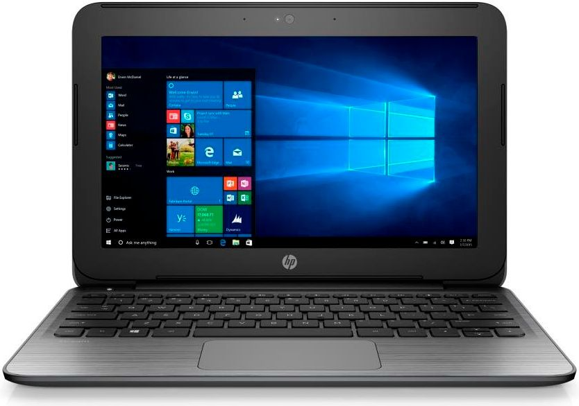 Hp Nuovi Notebook Stream 10580 on personal office storage