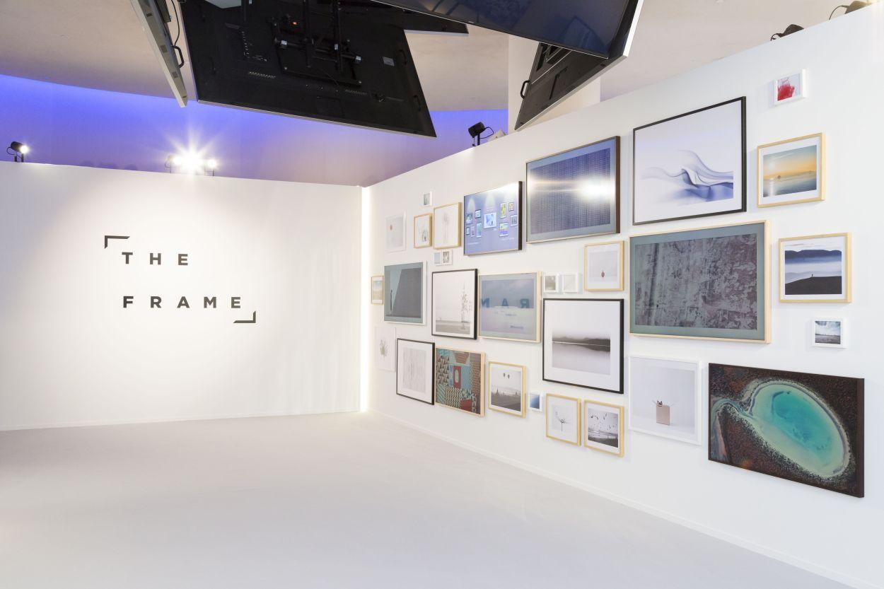 Samsung qled esposti a milano design week av magazine for Samsung arena milano