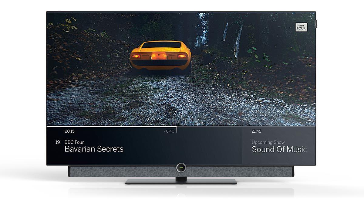 TV OLED 4K Loewe Bild 4.55 Dolby Vision | AV Magazine