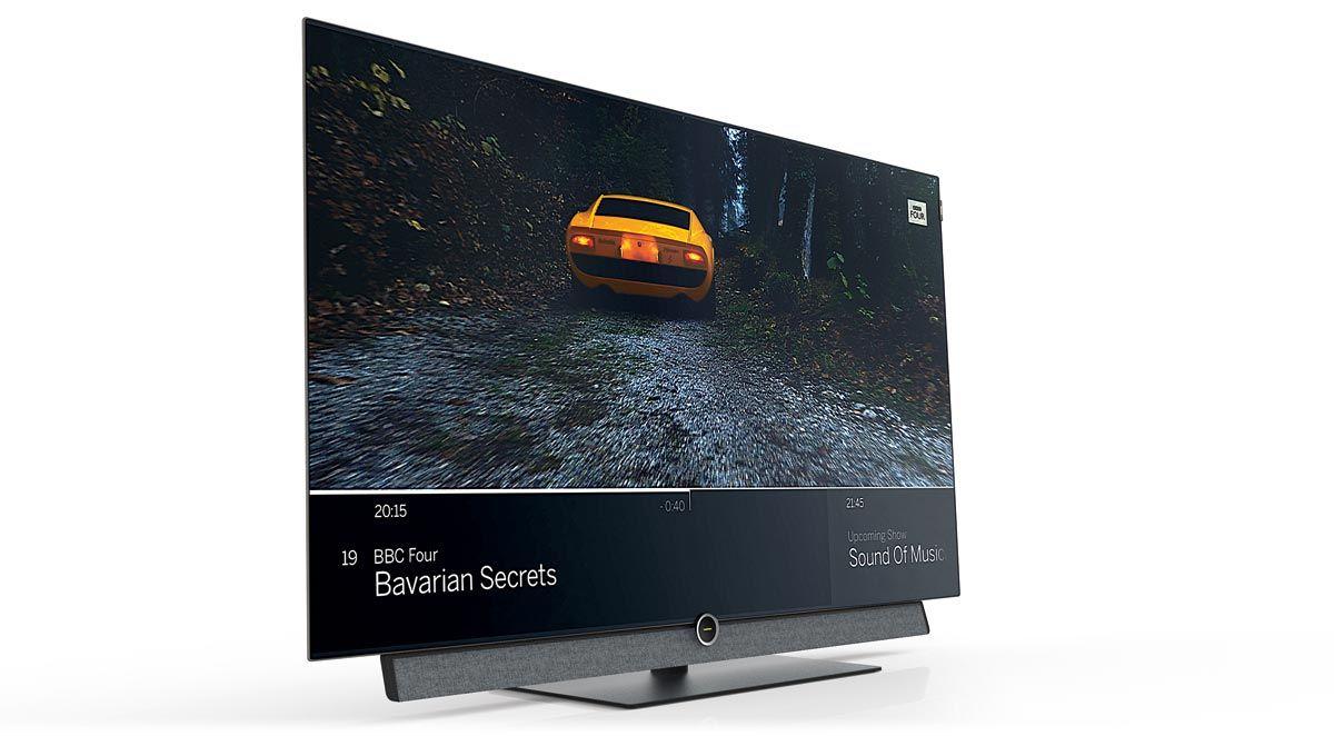 TV OLED 4K Loewe Bild 4.55 Dolby Vision   AV Magazine