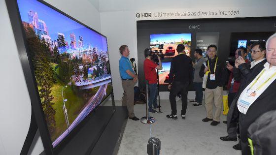 Samsung/LG: Anteprima Sui TV A CES 2018