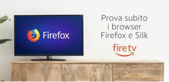 Amazon: browser Silk e Firefox per Fire TV   AV Magazine