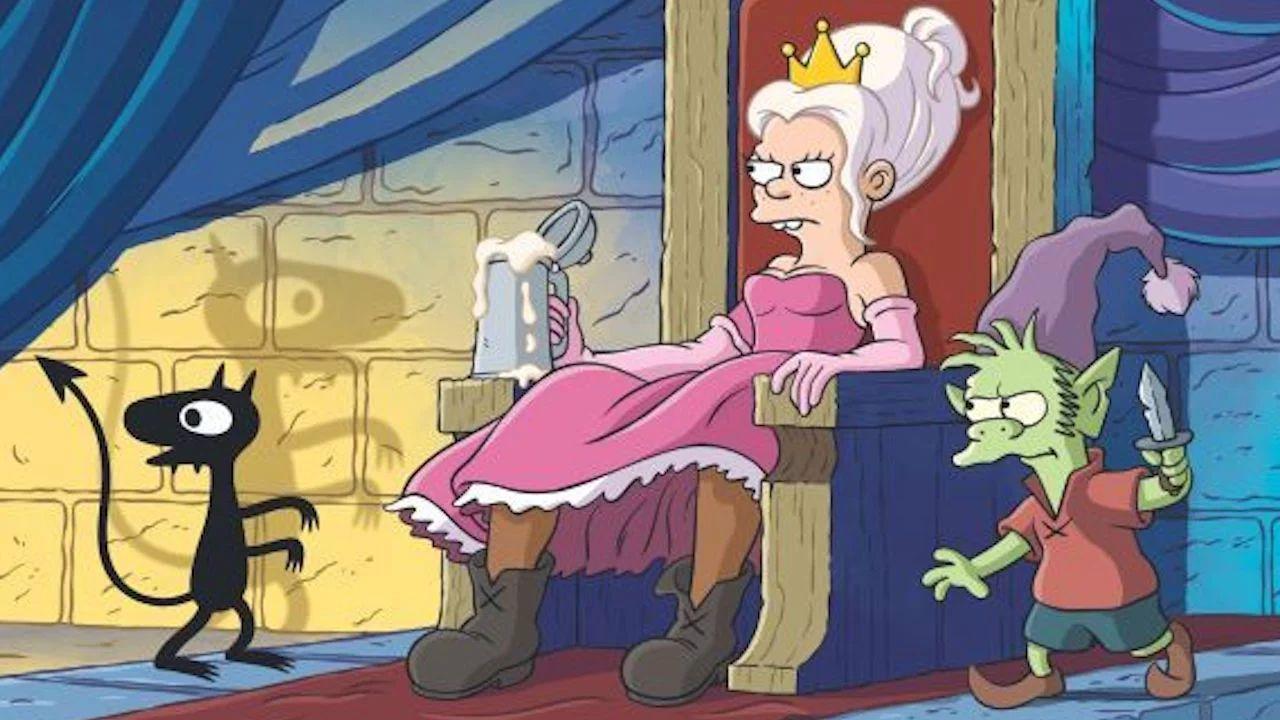 Disincanto: trailer ITALIANO per la nuova serie di Matt Groening