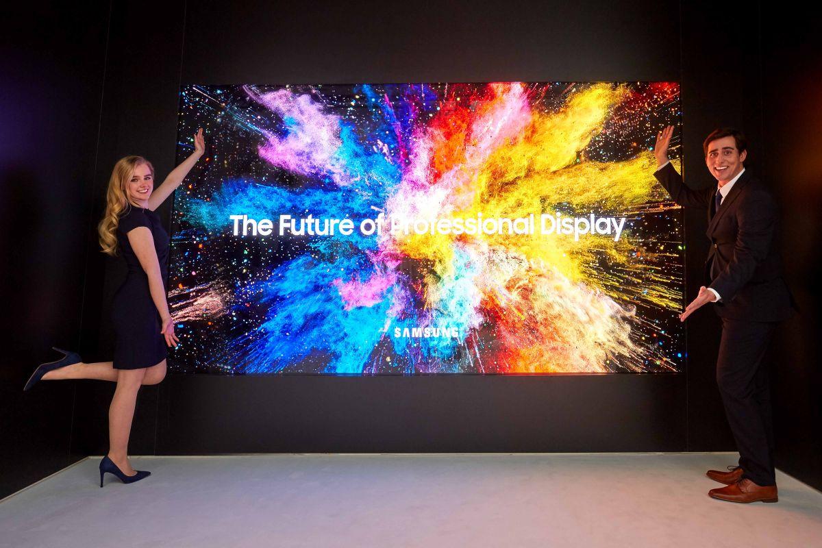 Samsung Microled The Wall Ad Agosto 2018 Av Magazine