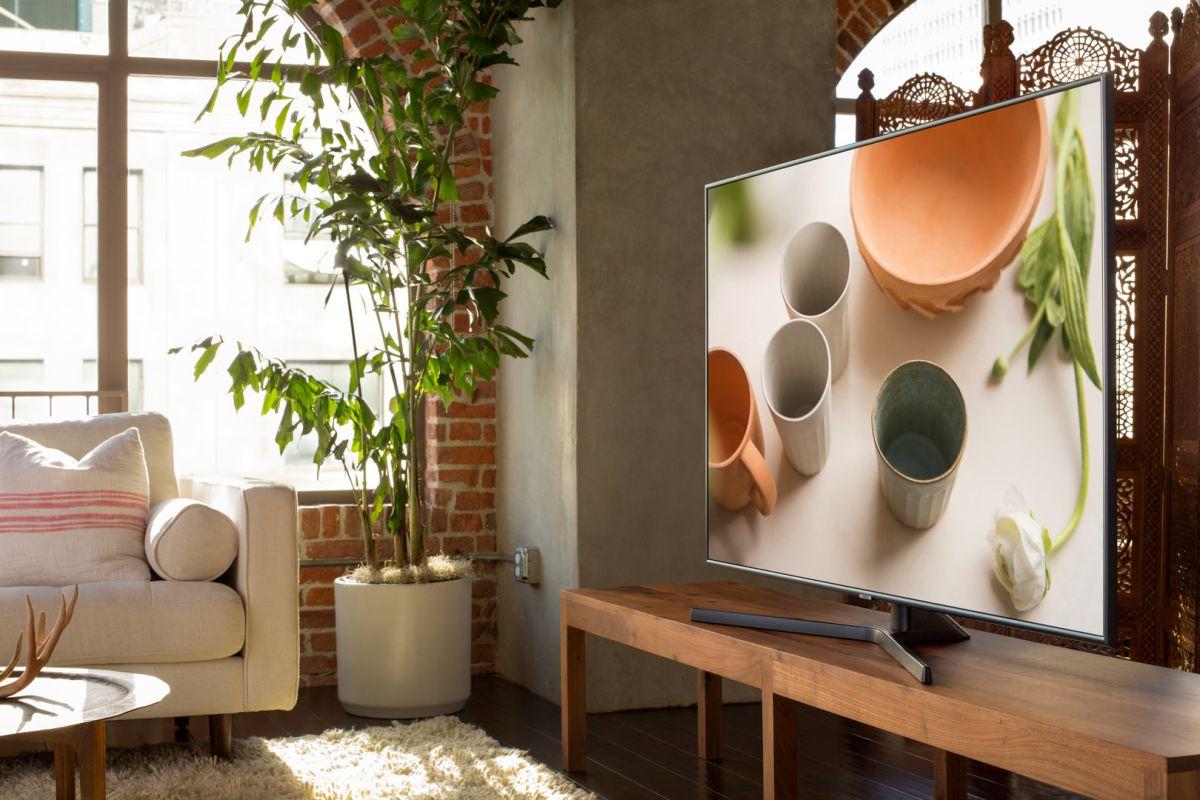 Samsung tv 4k hdr nu7405 in arrivo av magazine for Distanza tv 4k