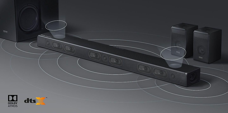 Soundbar Samsung 3d Hw N950 Hw N850 Av Magazine