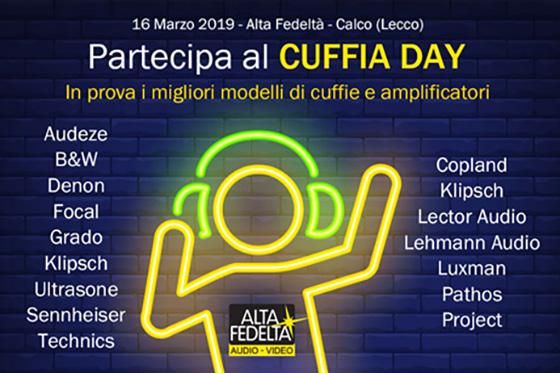 Sabato 16 Marzo 2019 avrà luogo il Cuffia Day 7894cb70063f