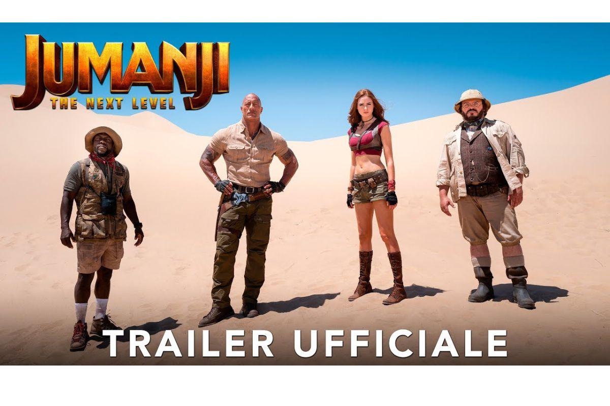 Jumanji: The Next Level   Il primo trailer del film con Dwayne Johnson