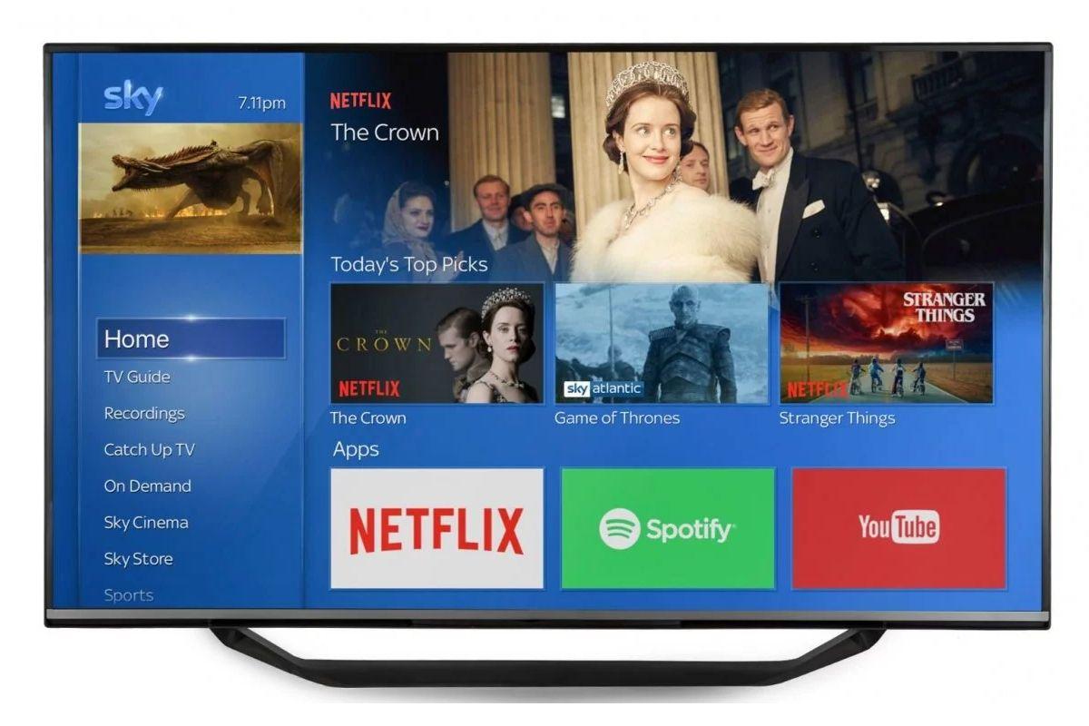 Netflix su sky go app