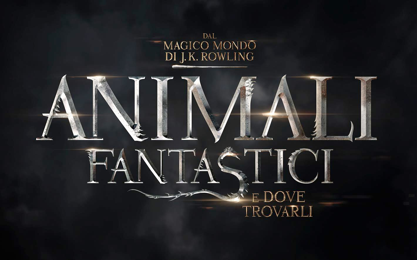 Il teaser poster italiano di Animali Fantastici e Dove Trovarli
