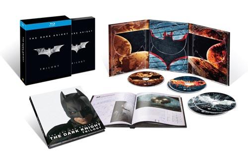 """Il cofanetto Blu-ray della trilogia di """"The Dark Knight"""""""