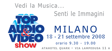 Top audio video 18 21 settembre av magazine for Quark hotel milano